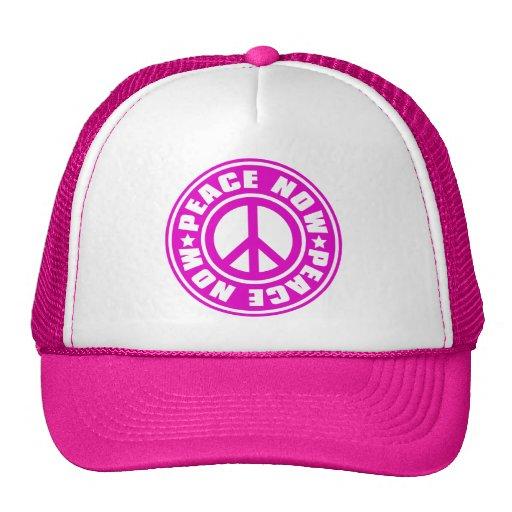 PEACE_NOW TRUCKER HAT