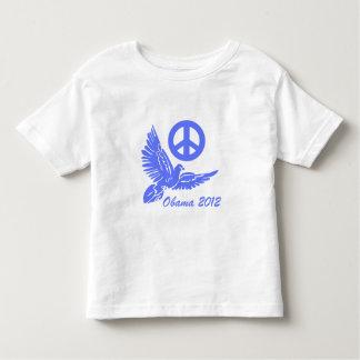 peace Obama 2012 Toddler T-shirt