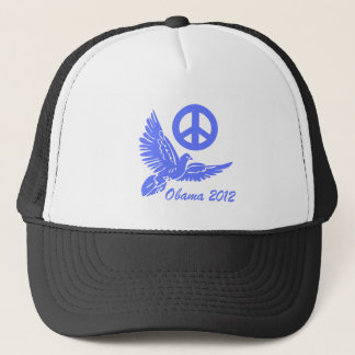 peace Obama 2012 Trucker Hat