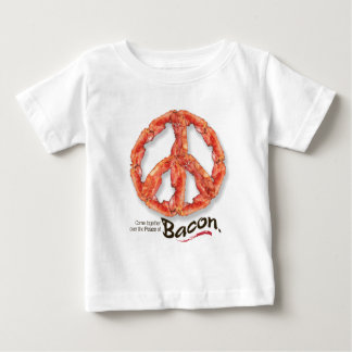 Peace of Bacon Baby T-Shirt