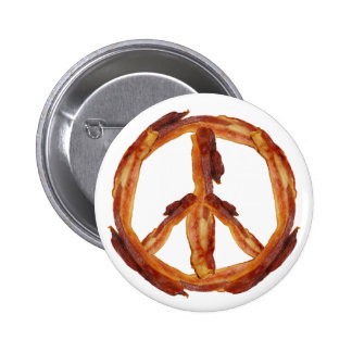 Peace Of Bacon Pin