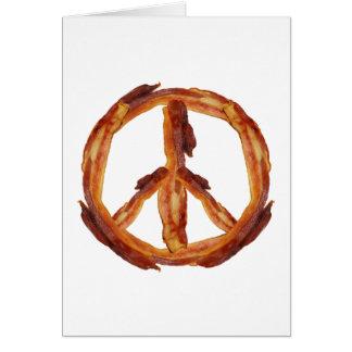 Peace Of Bacon Card