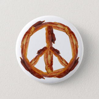 Peace Of Bacon Pinback Button