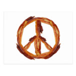 Peace Of Bacon Postcards