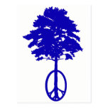Peace of Blue Post Card