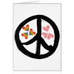 Peace of Hearts Greeting Card