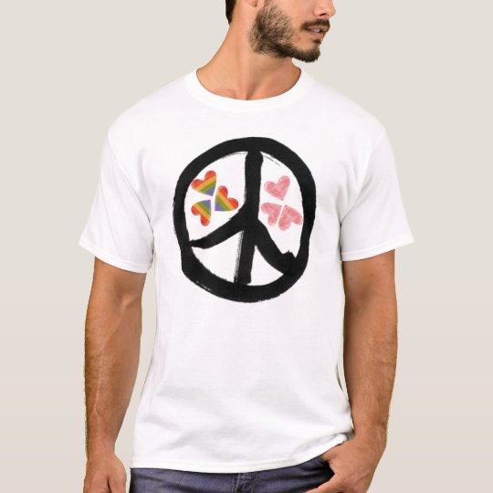 Peace of Hearts Men's Shirt