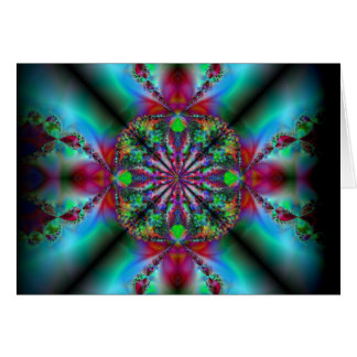 peace of mind ~ amazing fractal art note card