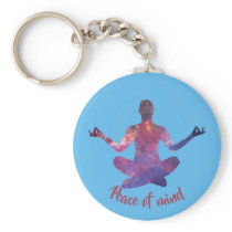 Peace of mind keychain