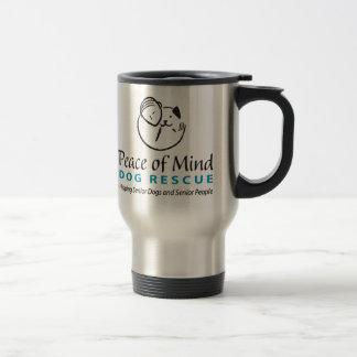 Peace of Mind Logo Travel Mug
