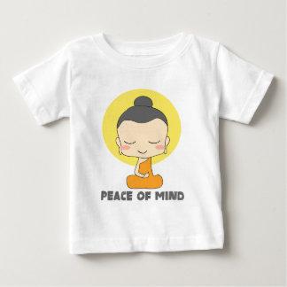 Peace of Mind Zen Budda Baby T-Shirt