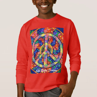 Peace of Our Universe Kids Sweatshirt