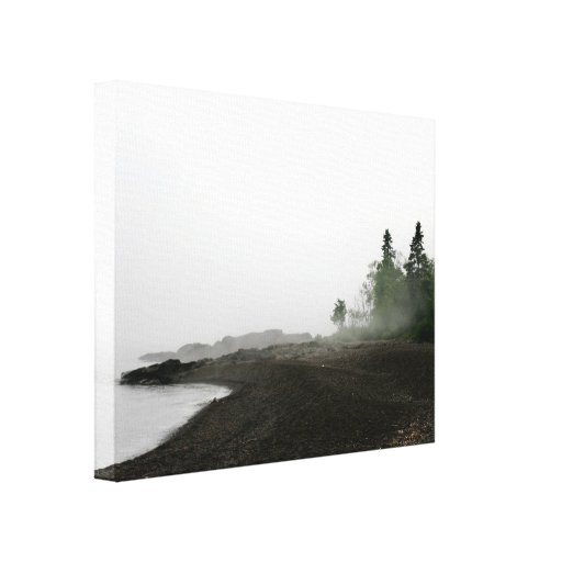 Peace of the North Shore Landscape Canvas Art Gallery Wrap Canvas