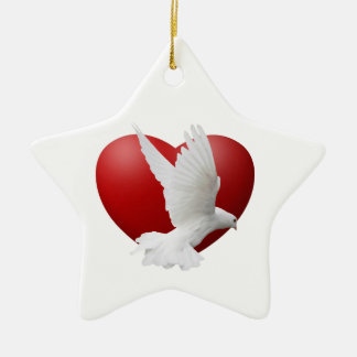 Peace of the Season Holiday Ornament