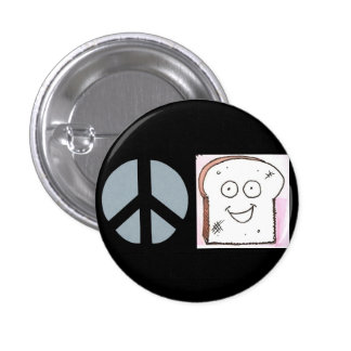 Peace of Toast Button