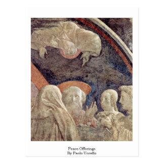 Peace Offerings By Paolo Uccello Postcard
