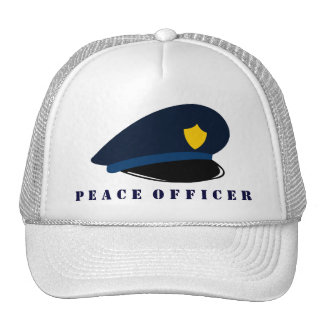 Peace Officer Mesh Hat