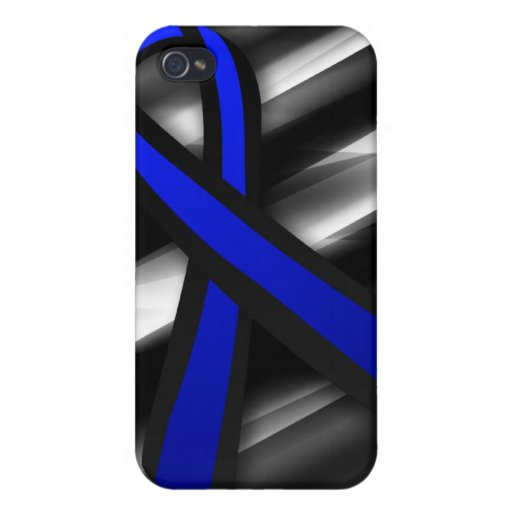 Peace Officers Memorial Ribbon iPhone 4/4S Case