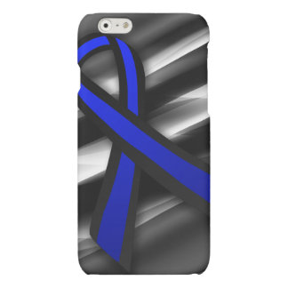 Peace Officers Memorial Ribbon Matte iPhone 6 Case