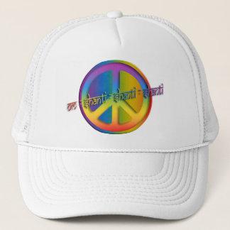 Peace Om Shanti Trucker Hat