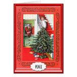 Peace on Christmas night Greeting Card