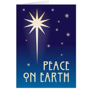Peace On Earth 1 Card