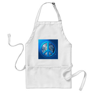Peace On Earth Adult Apron