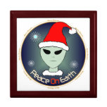 Peace On Earth Alien Gift Box