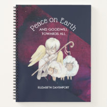 Peace on Earth and Goodwill Toward All Shepherd Notebook