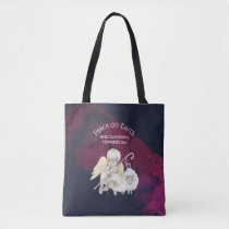 Peace on Earth and Goodwill Toward All Shepherd Tote Bag