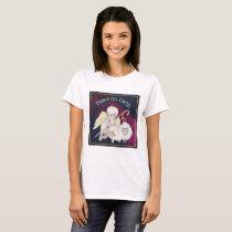 Peace on Earth Angel Shepherd & Lambs T-Shirt