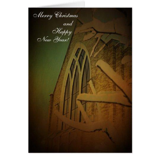 Peace on Earth Art Christmas card
