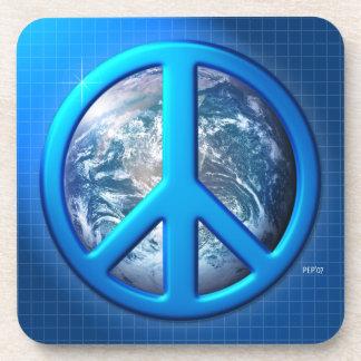Peace On Earth Beverage Coaster