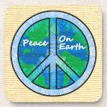 Peace on Earth Beverage Coasters