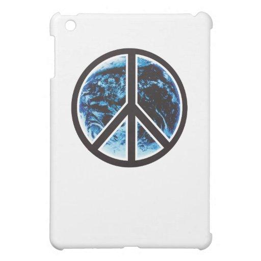 peace on earth black iPad mini covers