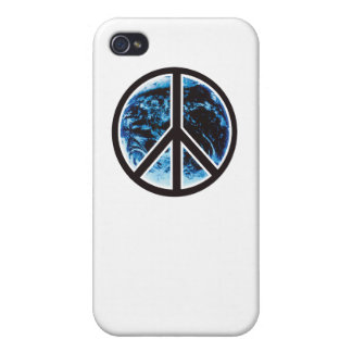 peace on earth black iPhone 4/4S case