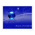 Peace on Earth - Blue Custom Announcement