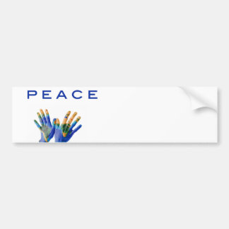 Peace on Earth Bumper Stickers