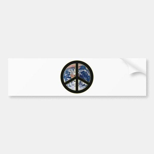 Peace On Earth Car Bumper Sticker