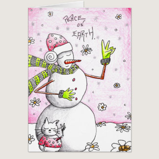 Peace on Earth - Card for a Cause