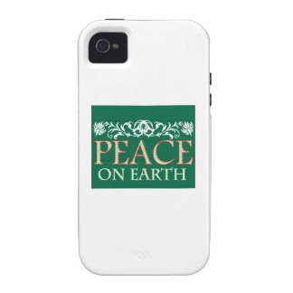 Peace On Earth Case-Mate iPhone 4 Cover