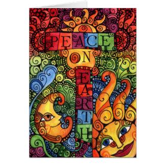 Peace on Earth Christmas Card