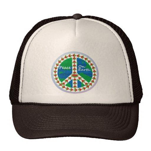 Peace on Earth Christmas Trucker Hat