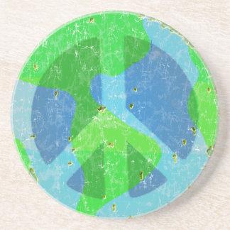 Peace on Earth Coaster