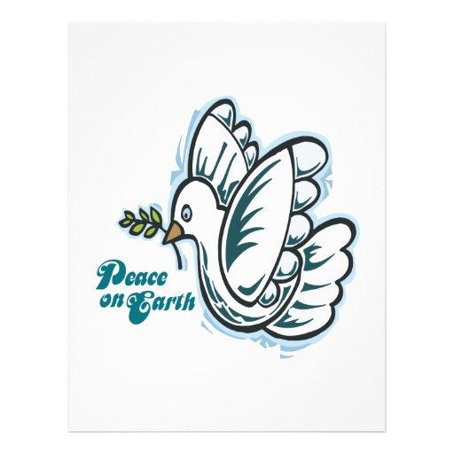Peace On Earth Custom Flyer