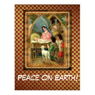 Peace On Earth Custom Postcard