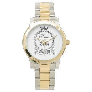 Peace on Earth Custom Watch