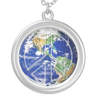 Peace on Earth - Customizable Pendant Necklace