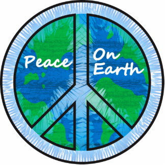 Peace on Earth Cutout