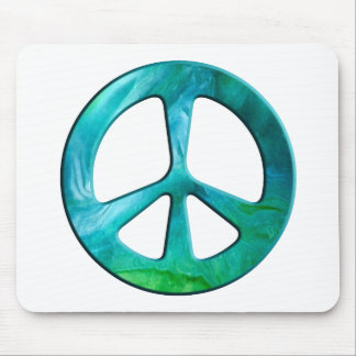 Peace On Earth Day Mouse Pads